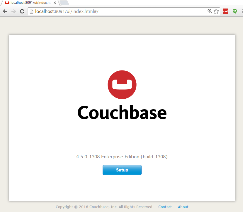 Couchbase Server Console