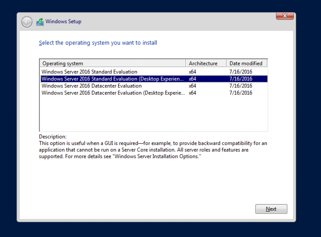 Windows Server 2016 Using VirtualBox - Getting Ready for