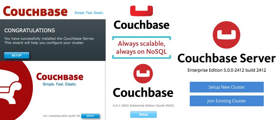 The Couchbase discography
