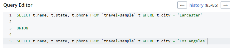 Query Editor tooling